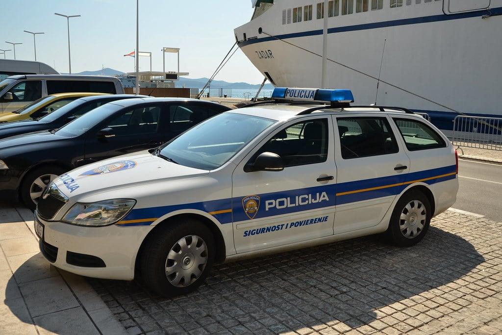 Politie Kroatie